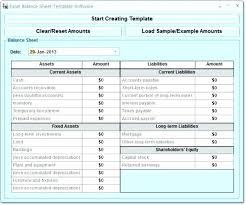 Sample Personal Balance Sheet Personal Balance Sheet Template Excel Chanceinc Co