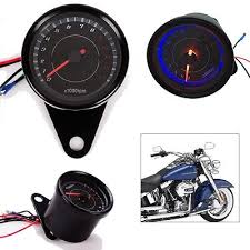 universal motorcycle led backlight tachometer speedometer tacho led backlight 13000 rpm tachometer scooter tacho gauge motorcycle speedometer