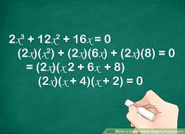 image titled solve higher degree polynomials step 1