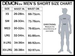 short size demon flexforce pro padded shorts v2