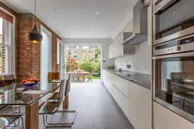london mosaico carrara with cone pendant lights kitchen contemporary and transpa plastic chairs white gray