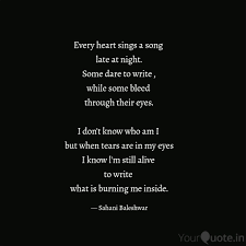Best Latenight Quotes Status Shayari Poetry Thoughts Yourquote