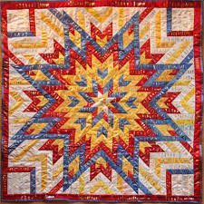ShowThrow Heirloom Ribbon Quilts by Lani B. Ohly & large ribbon quilt ... Adamdwight.com