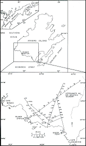 The study included extensive monitoring of ice thickness and movement the diagram at left illustrates the survey profiles art rundle author of this paper