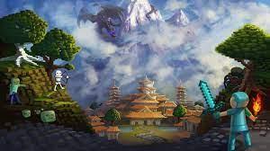 Minecraft wallpaper by SaraLynArt on ...