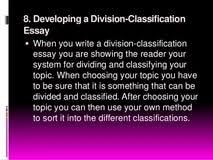 divide and classify essay topics love the right chemistry essay divide and classify essay topics
