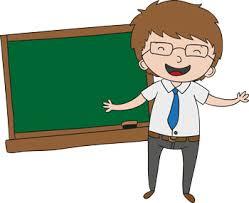 Image Photo Kindergarten Pros Cons Teacher At Blackboard Teach