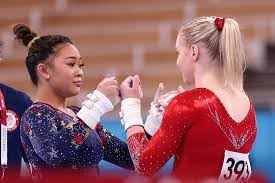 Olympic gold medalists Suni Lee ...