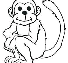 Free Cute Monkey Coloring Pages Free Printable Monkey Coloring Pages