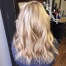 Natural Blonde And Honey Blonde Highlights
