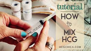 Iu To Cc Conversion Chart How To Mix Hcg Injections 5000iu
