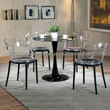 round table dinette sets dining amusing round table dinette sets clear acrylic modern chair and glass round table dinette sets
