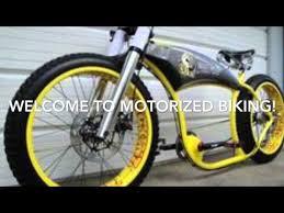 custom motorized bikes parts list youtube