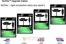 seagate goflex adds swappable usb 3 0 esata firewire cables a docks to hdds slashgear