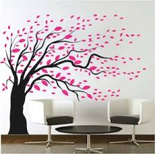 removable diy modishblowing tree wall art sticker design large tree nursery baby room wall decal muurstickers babykamer a614 in wall stickers from home  on wall art trees large with removable diy modishblowing tree wall art sticker design large tree