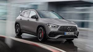 Pros zippy to drive nimble handling practical hatchback shape amg gla45 is downright sporty. 2021 Mercedes Amg Gla 45 Closer Look A Manic Mighty Mite From Amg
