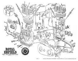 royal enfield interceptor mk engine parts