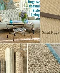 natural fiber coastal living rugs made from sisal jute and seagrass