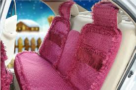 name oulilai lace tassel universal automobile car seat cover cushion plush 15pcs rose