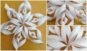 How To Make A 3d Snowflake How To Make A 3d Snowflake Out Of Paper Serpto