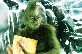 the grinch.  Grinch How The Grinch Stole Christmas Starring Jim Carrey Is The Worst Movie Ever Inside G