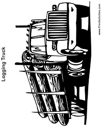 logging coloring pages logging truck colouring pages rocks pinterest silhouettes