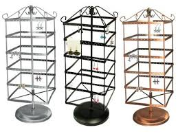 Rotating Earring Display Stands Earring Display Jewelry Necklace Display Form Ring Display Stand 2