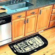 sunflower kitchen mat rectangle kitchenaid attachments classic rug by floor mats