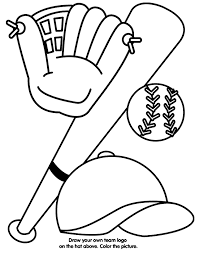 Small Picture Baseball Equipment Coloring Page crayolacom