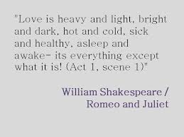 Quotes In Romeo And Juliet About Love
