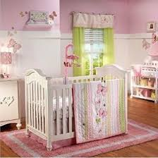 nojo erfly love collection pink yellow white 4 pc crib bedding set