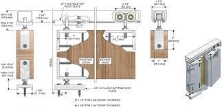 sliding door track cf 115 wooden sliding door detail