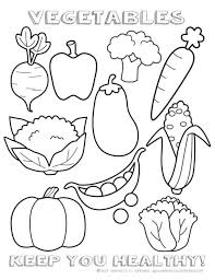 Small Picture Healthy Nutrition Coloring Pages Coloring Page Cartoon