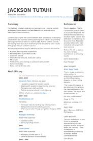 Bank Resume Template Amazing Banking Resume Samples VisualCV Resume Samples Database