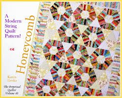Karen Griska Quilts: New Honeycomb Quilt and Pattern! & The Honeycomb quilt and pattern. This quilt is much easier to make than it  looks. It measures 56