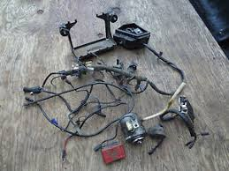 1979 bmw r65 r 65 wiring harness battery tray box rectifier ignition Starter Wiring Harness image is loading 1979 bmw r65 r 65 wiring harness battery