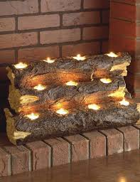 tealight fireplace insert this is great for an old fireplace that has been closed off