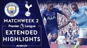 Manchester City v. Tottenham Hotspur | PREMIER LEAGUE HIGHLIGHTS | 8/17/19