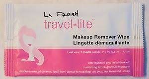image is loading la fresh travel lite makeup remover wipes packed