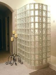 marvelous glass shower walls walk in door less glass block shower constructed with glass block shower