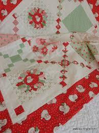 The Pot Luck quilt using the Swell Christmas collection by Urban ... & The Pot Luck quilt using the Swell Christmas collection by Urban Chiks for  Moda fabrics. Adamdwight.com