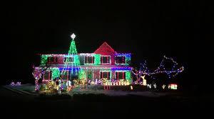 Christmas Night Light Show