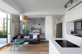 A Dark S Tel Aviv Apartment Is Revitalized Design Milk - 1950s house interior