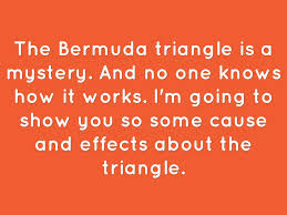 bermuda triangle persuasive essay  an interesting essay example discussing bermuda triangle
