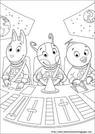 Small Picture Backyardigans Coloring Pages Educational Fun Kids Coloring Pages