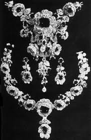 ruby parure of marie antoinette before remounting at one time belonged to the hapsburg
