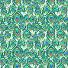 Peacock Pattern Magnificent Colorful Peacock Feather Seamless Pattern Royalty Free Cliparts