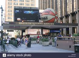 madison square garden main entrance on 7th ave