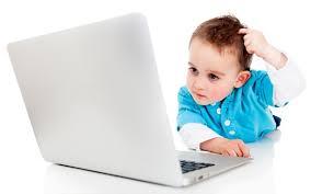 Znalezione obrazy dla zapytania dzieci przy komputerze obrazki