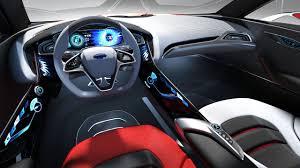 Ford Interior Design Ford Evos Concept Interior Design Rendering Car Body Design